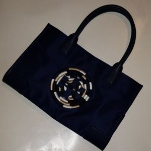 Tory Burch Ella Rope Tote French Navy